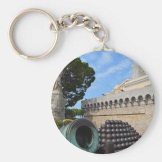 モナコ宮殿-砲弾および大砲 キーホルダー