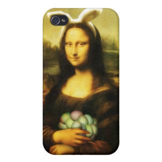 モナ・リザのイースターのウサギ iPhone 4 CASE