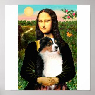 モナ・リザのオーストラリアの羊飼い(三) ポスター