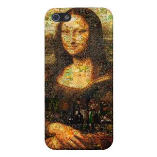モナ・リザのコラージュ-モナ・リザのモザイク-モナ・リザ iPhone 5 ケース