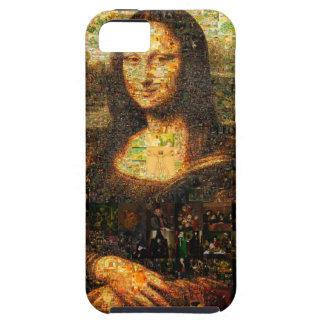 モナ・リザのコラージュ-モナ・リザのモザイク-モナ・リザ iPhone SE/5/5s ケース