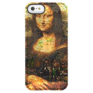 モナ・リザのコラージュ-モナ・リザのモザイク-モナ・リザ PERMAFROST iPhone SE/5/5sケース
