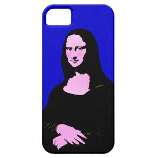 モナ・リザのポップアートのスタイル(背景色を加えて下さい) iPhone SE/5/5s ケース