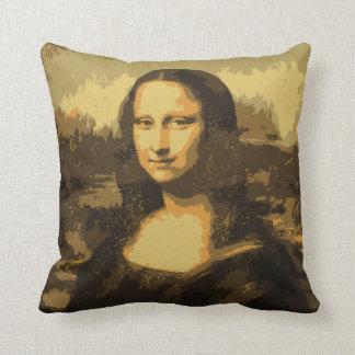 モナ・リザのポートレートの枕 クッション