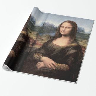 モナ・リザのポートレート/絵画 ラッピングペーパー