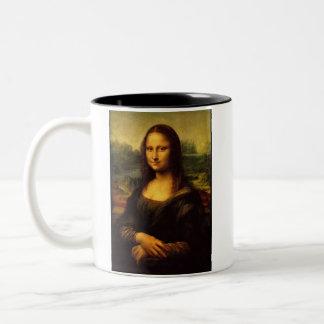 モナ・リザのマグ ツートーンマグカップ