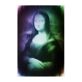 モナ・リザのモダンの抽象芸術のリメイク アクリルウォールアート