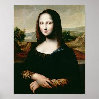 モナ・リザのレオナルドda Vin著絵画のコピー ポスター