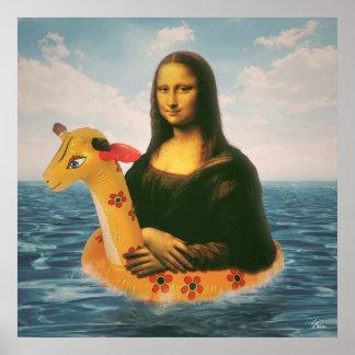 モナ・リザの休日 ポスター