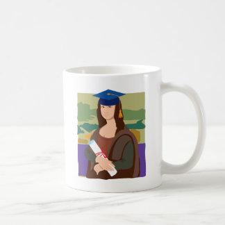 モナ・リザの卒業生 コーヒーマグカップ