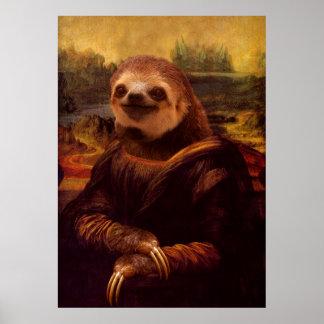 モナ・リザの怠惰 ポスター