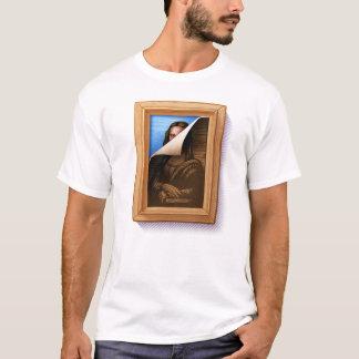モナ・リザの皮 Tシャツ