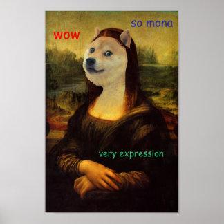 モナ・リザの芸術的な総督 ポスター