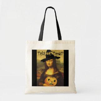 モナ・リザの魔法使い及びJOLハロウィンのトリック・オア・トリートのバッグ トートバッグ