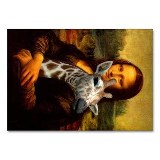 モナ・リザはキリンを愛します カード