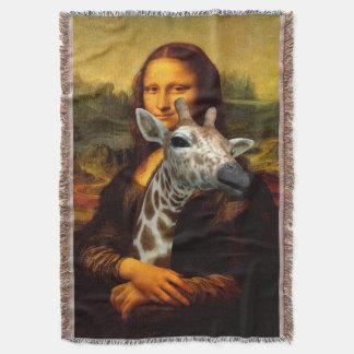 モナ・リザはキリンを愛します スローブランケット