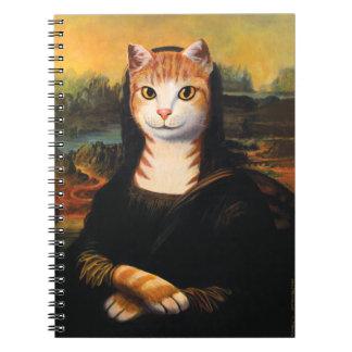モナ・リザ猫 ノートブック