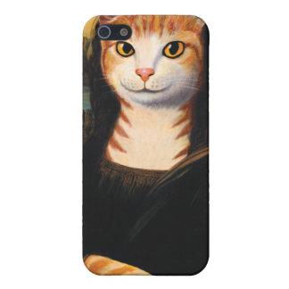 モナ・リザ猫 iPhone 5 ケース