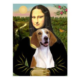モナ・リザ-アメリカFoxhound ポストカード
