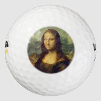 モナ・リザ ゴルフボール