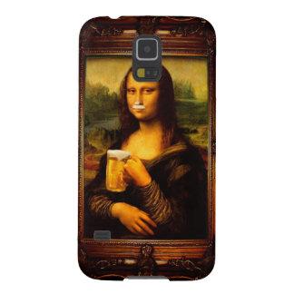 モナ・リザ-モナ・リザビール-モナおもしろいなリサビール GALAXY S5 ケース