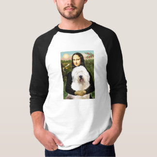 モナ・リザ-古い英語3 Tシャツ