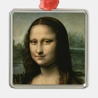モナ・リザ、c.1503-6 メタルオーナメント