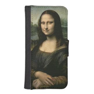 モナ・リザ、c.1503-6 2 iPhoneSE/5/5sウォレットケース