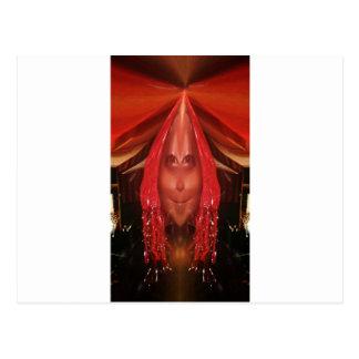 モニークの歩行者のおもしろいな写真 ポストカード