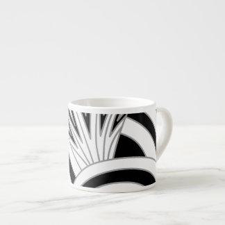 モノクロアールデコの設計 エスプレッソカップ