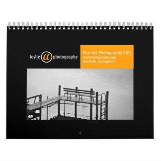 モノクロファインアートの写真のカレンダー カレンダー