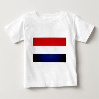 モノクロルクセンブルクは印を付けます ベビーTシャツ