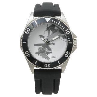 モノクロ写真腕時計メンズvol001 ウオッチ