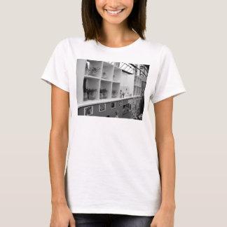 モノクロ写真Tシャツ-レディースvol001 Tシャツ