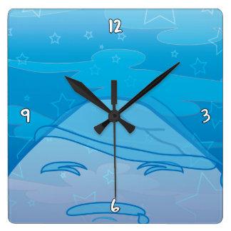 モノクロ夢! スクエア壁時計