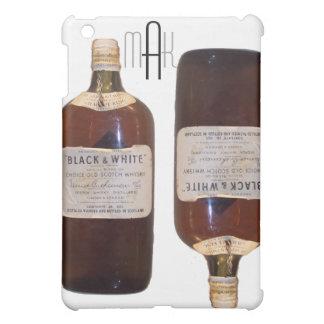 モノグラムが付いているヴィンテージのボトルのスコットランドウィスキー iPad MINIケース