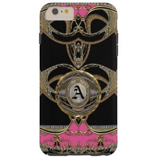 モノグラムとショー6/6sのAdelinesのガーリーなベスト Tough iPhone 6 Plus ケース
