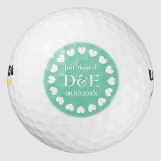 モノグラムのなゴルフ・ボールの一定の結婚式の引き出物のギフトのアイディア ゴルフボール
