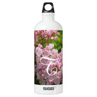 モノグラムのなピンクのアメリカ・シャクナゲのボトル ウォーターボトル