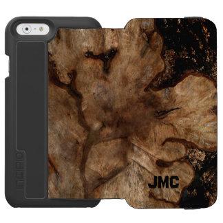 モノグラムのな木切り株 INCIPIO WATSON™ iPhone 5 財布型ケース