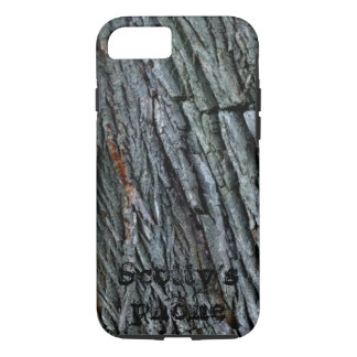 モノグラムのな樹皮- iPhone 8/7ケース