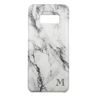 モノグラムのな灰色および黒い大理石の石 Case-Mate SAMSUNG GALAXY S8ケース