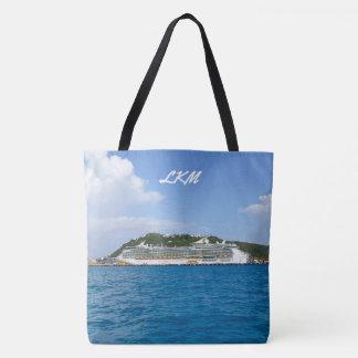モノグラムのなSint Maartenの自由 トートバッグ