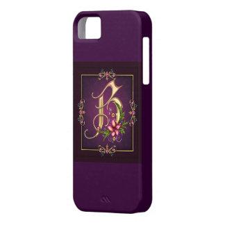 モノグラムのイニシャル iPhone SE/5/5s ケース