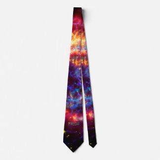 モノグラムのカシオペア座、銀河の最も若い超新星 ネクタイ