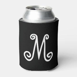 モノグラムのカスタムなイニシャル前部および背部 缶クーラー