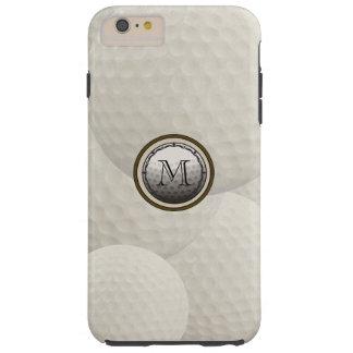 モノグラムのゴルフ・ボールのiPhone6ケース Tough iPhone 6 Plus ケース