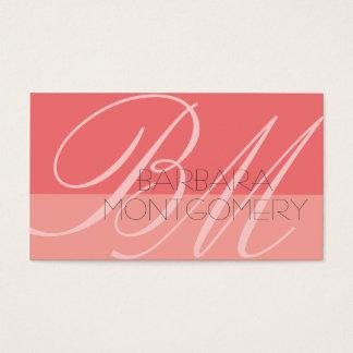 モノグラムのスタイリストのファッション・デザイナーの名刺 名刺