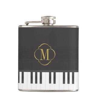モノグラムのピアノ フラスク