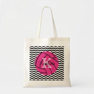 モノグラムのピンクのバレーボールのトートバック トートバッグ